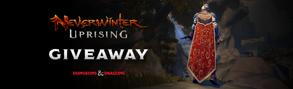 Neverwinter Uprising Couturier Giveaway Banner