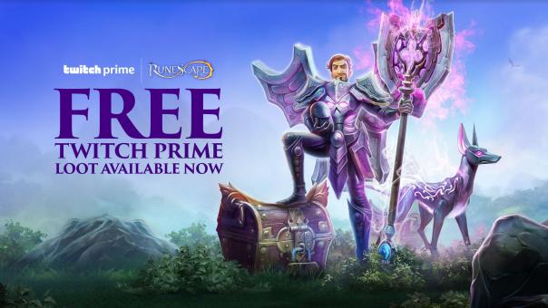 RuneScape Twitch Prime Header Text