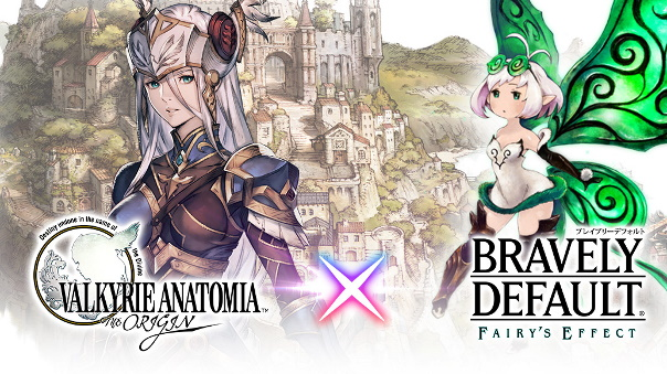 Valkyrie Anatomia x Bravely Default collab image