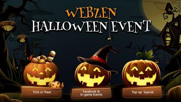 Webzen Halloween Event 2019
