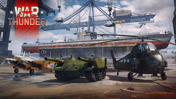War Thunder Operation Shipyard