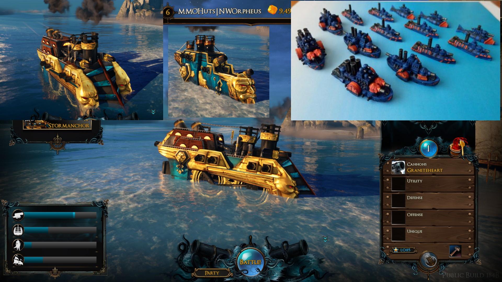 Maelstrom Dwarf Ships