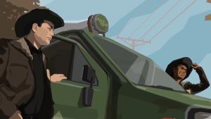 Rebel Cops Mobile Trailer