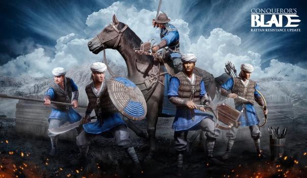 Conquerors Blade Rattan Resistance