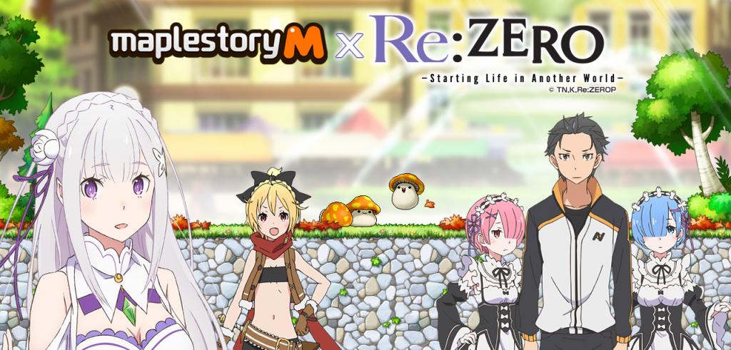 [MapleStory M] Re_ZERO Crossover