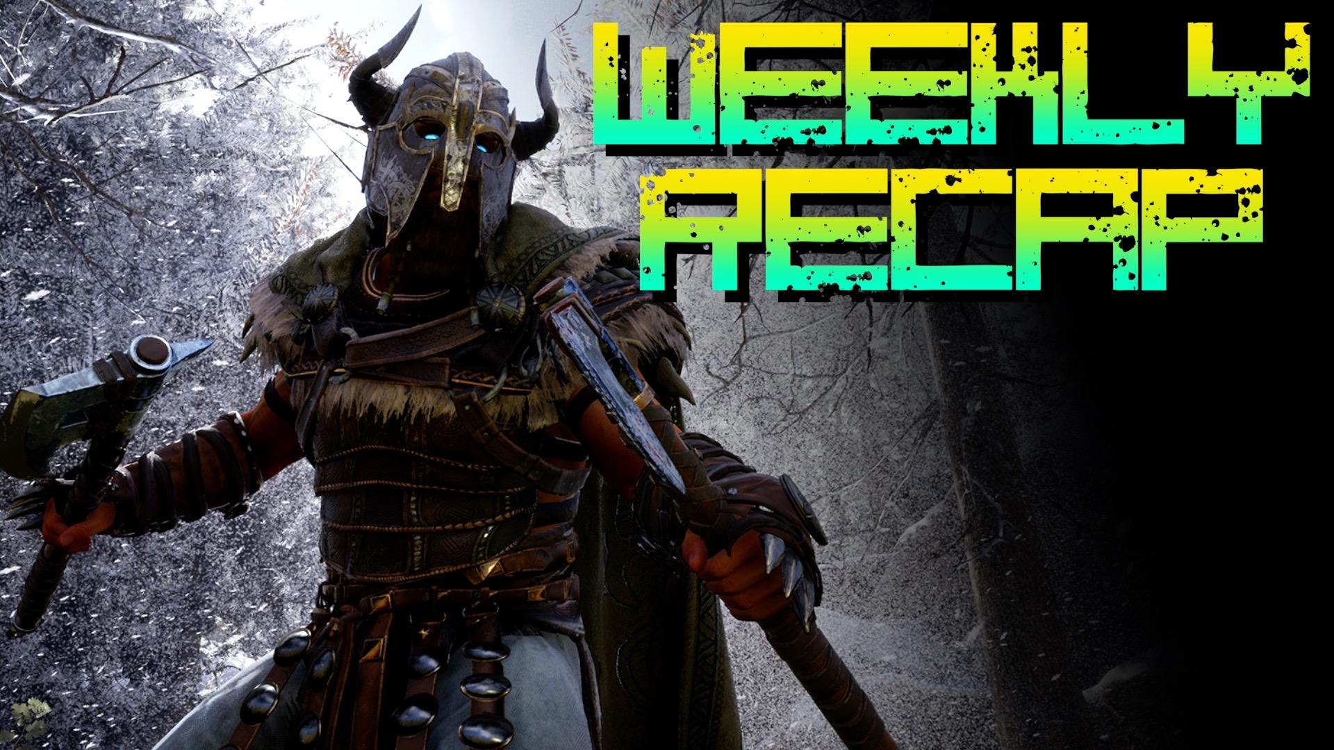 Weekly Recap 389