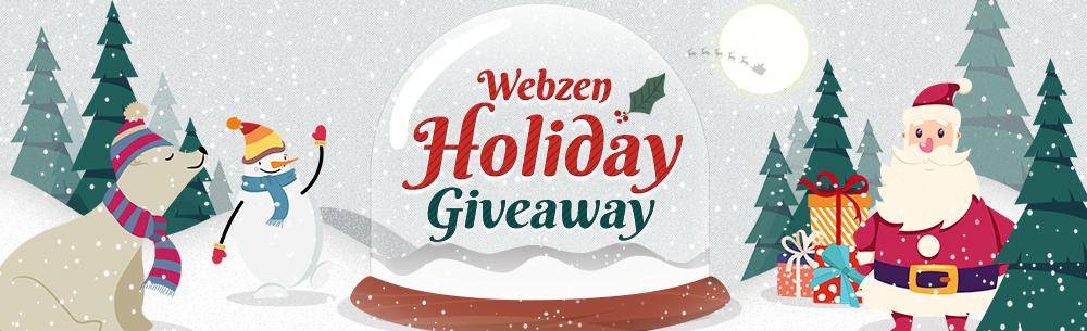 Webzen Holiday Giveaway Wide Banner