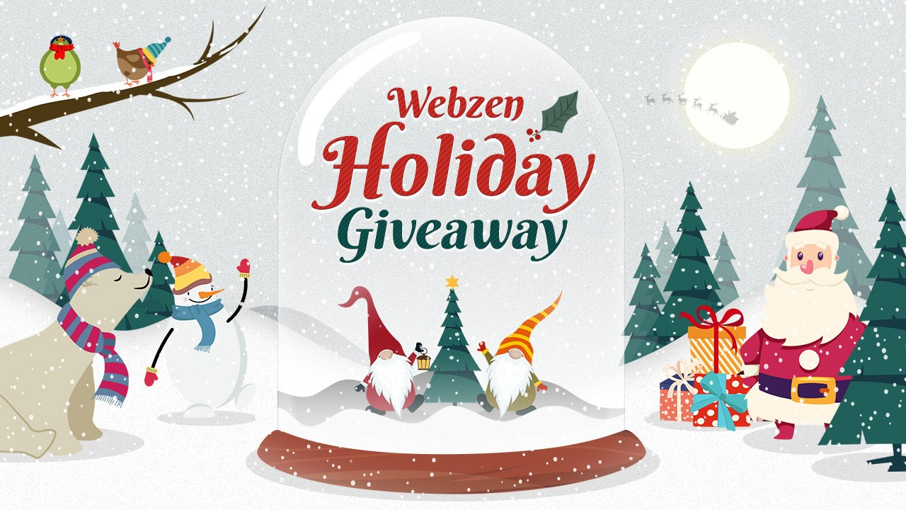 Webzen Holiday Giveaway