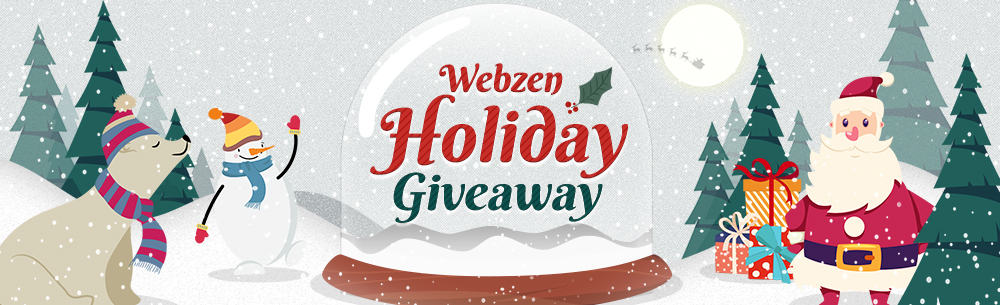 Webzen Holiday Giveaway Wide Banner