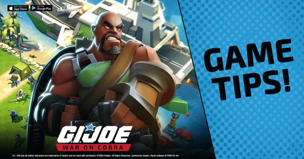 GI Joe War on Cobra Victory Tips - Joe