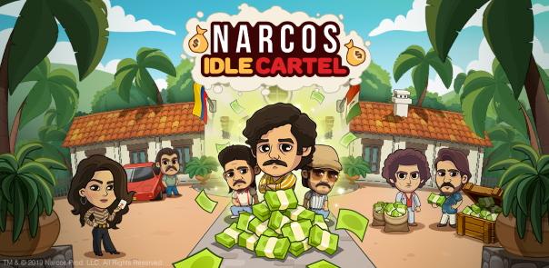 Narcos Idle Cartel Key Art