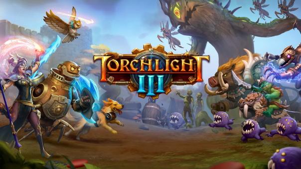 Torchlight III Key Art