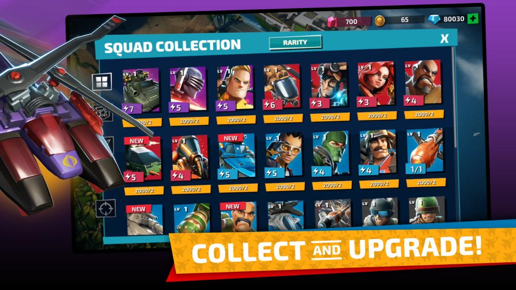 GI Joe War On Cobra: Collect & Upgrade
