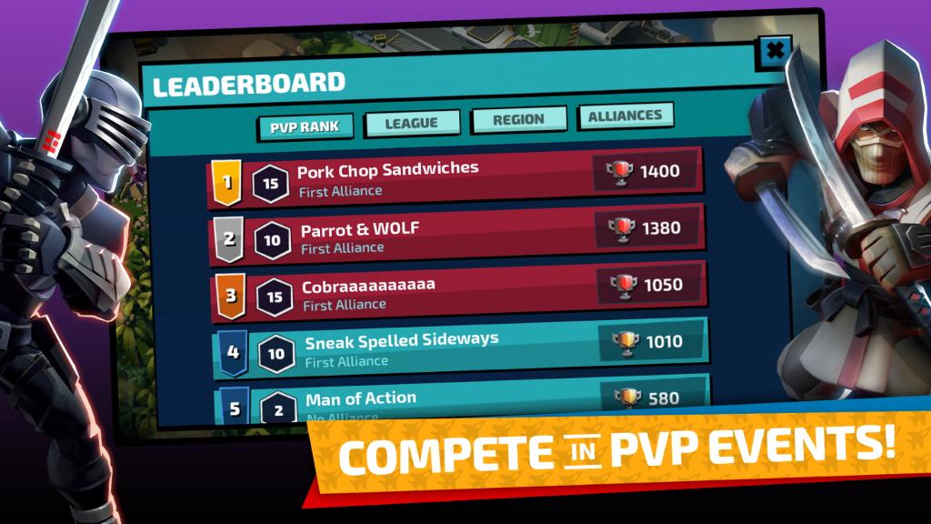 GI Joe War On Cobra: Compete in PvP Events
