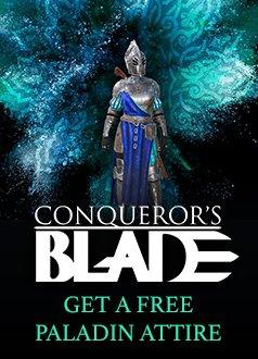 Conquerors Blade Paladin Attire Giveaway