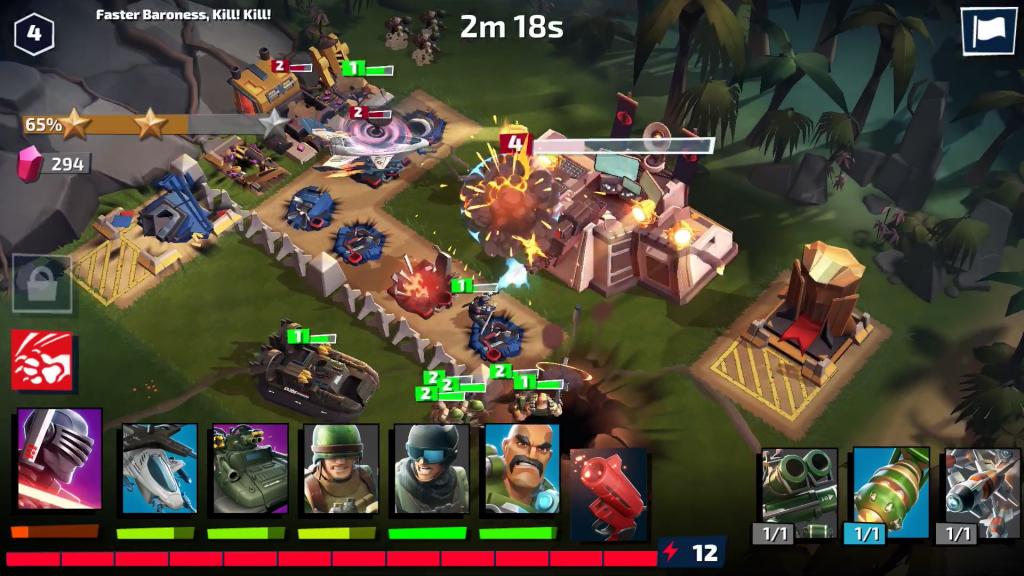 GI Joe War On Cobra Team Battle