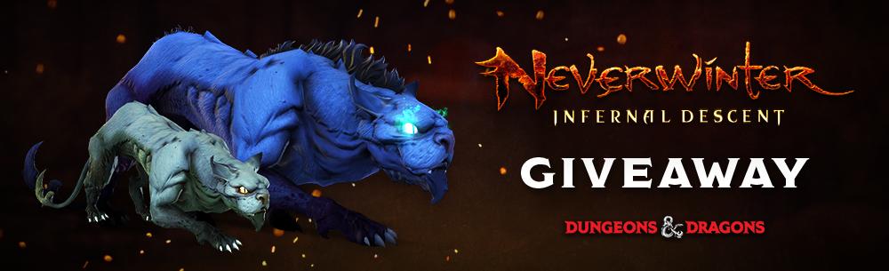 Neverwinter Infernal Descent Giveaway Banner