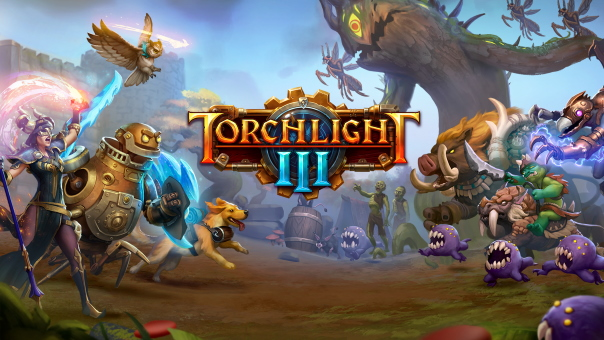 Torchlight III Key Art