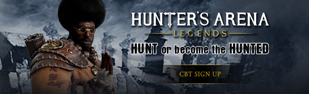 Hunters Arena Wide Banner