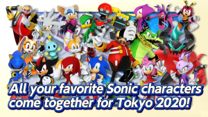Sonic at Olympic Games Tokyo 2020 Trailer