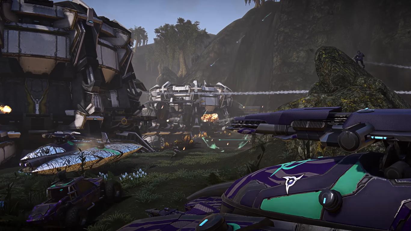 Planetside 2 Escalation Trailer