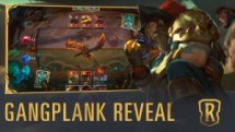 Legends of Runeterra Gangplank Reveal