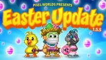 Pixel Worlds Easter Update