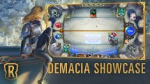Runeterra Demacia Showcase