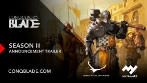 Conquerors Blade Season 3 Announcement Trailer