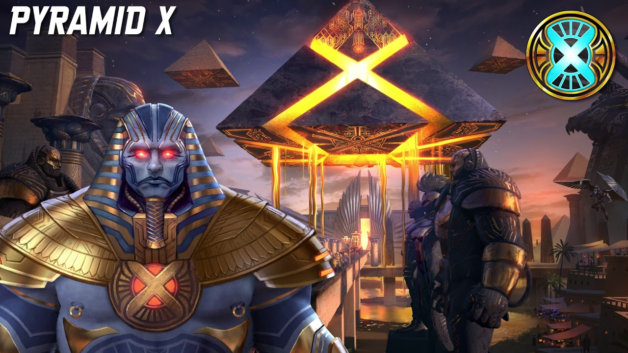 Marvel Realm of Champions Pyramid X