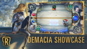 Runeterra Demacia Showcase