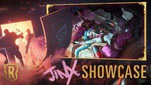 Runeterra Jinx Showcase