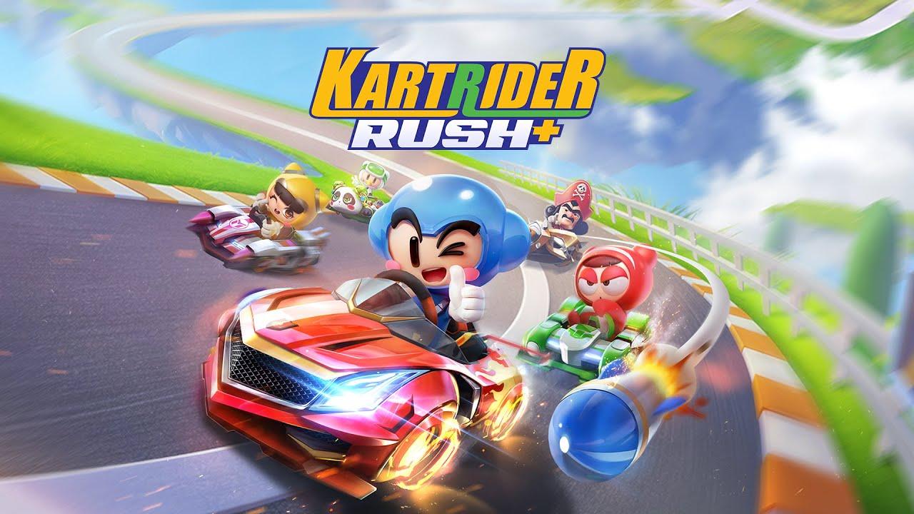 Kartrider Rush Launch Trailer