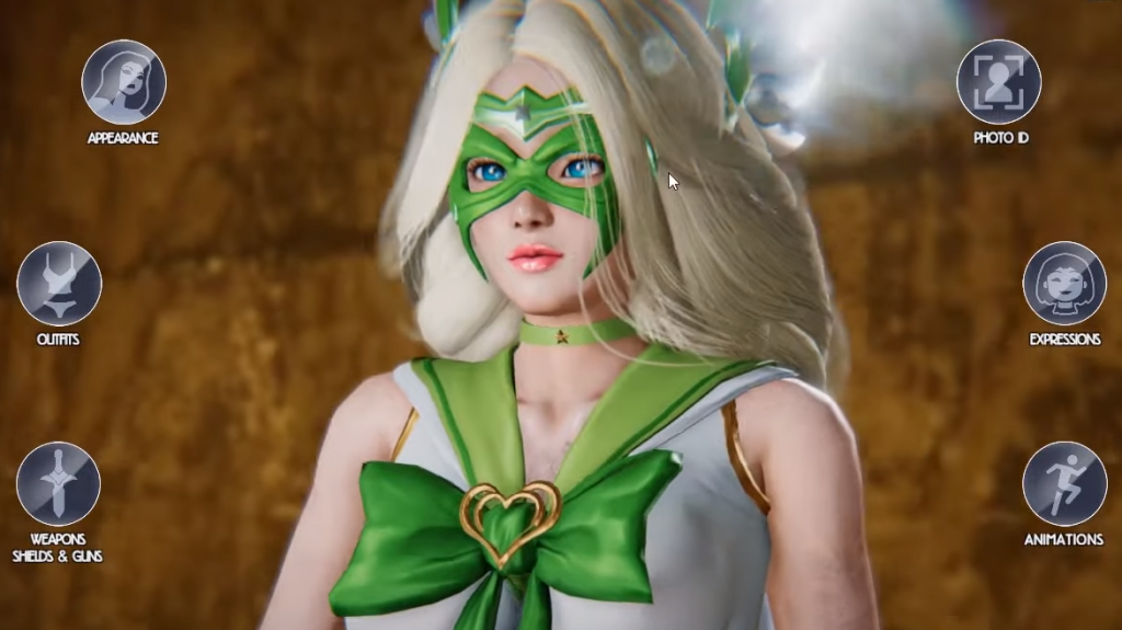 League of Maidens Character Customization
