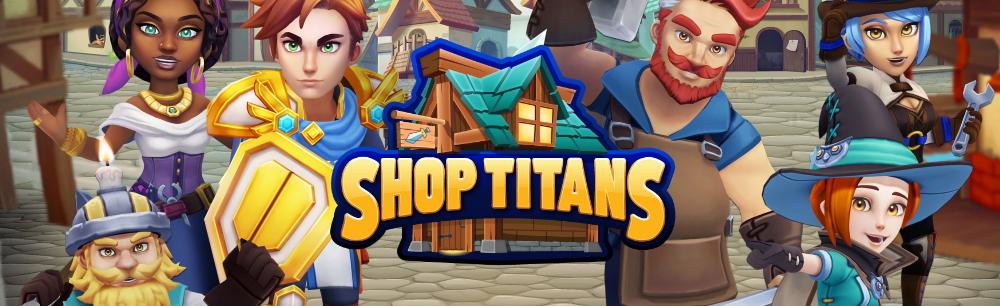 Shop Titans Steam Giveaway