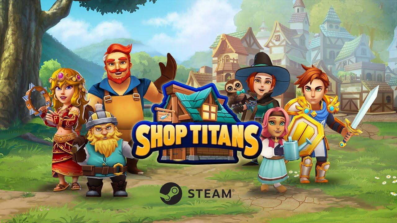 Shop Titans Steam Launch