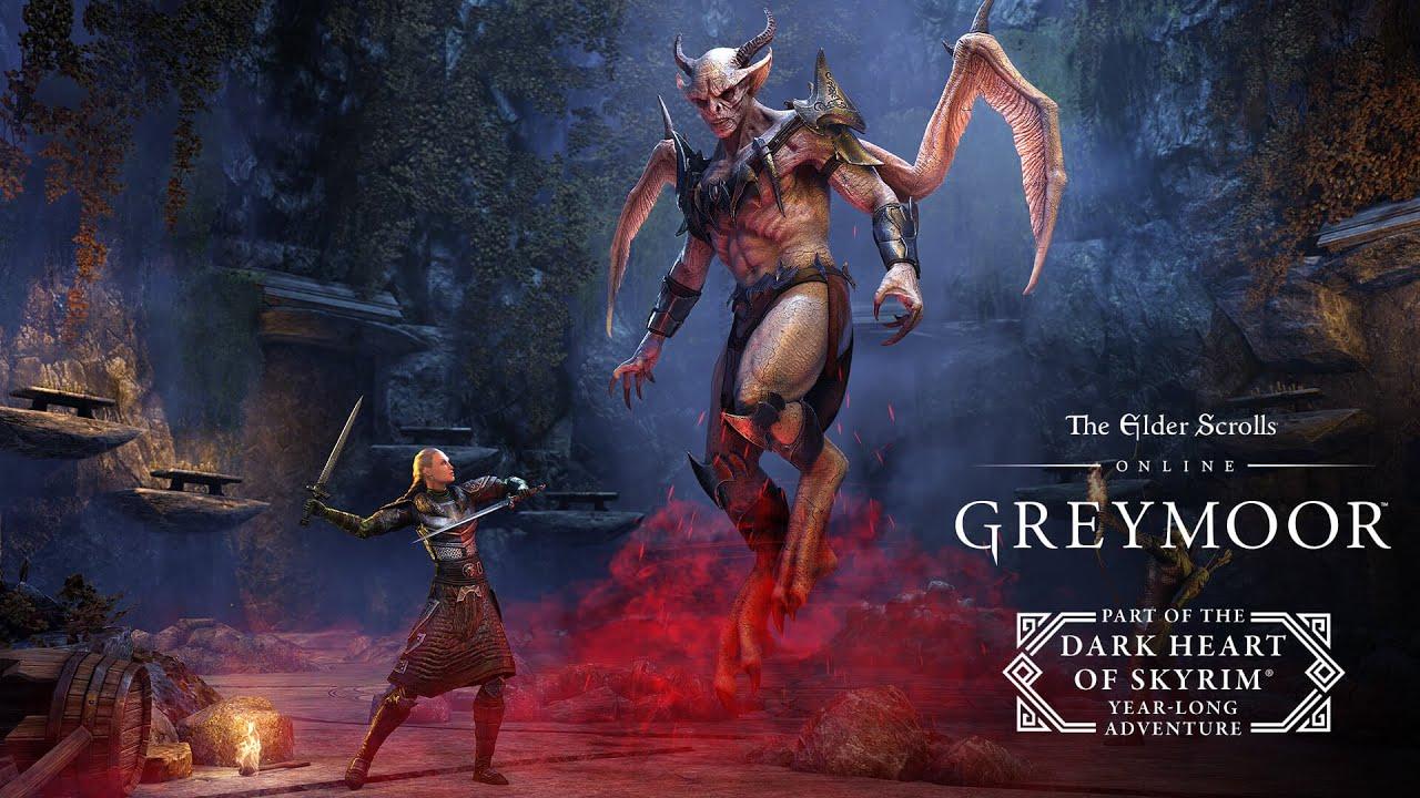 TESO Greymoor Dark Heart of Skyrim Trailer