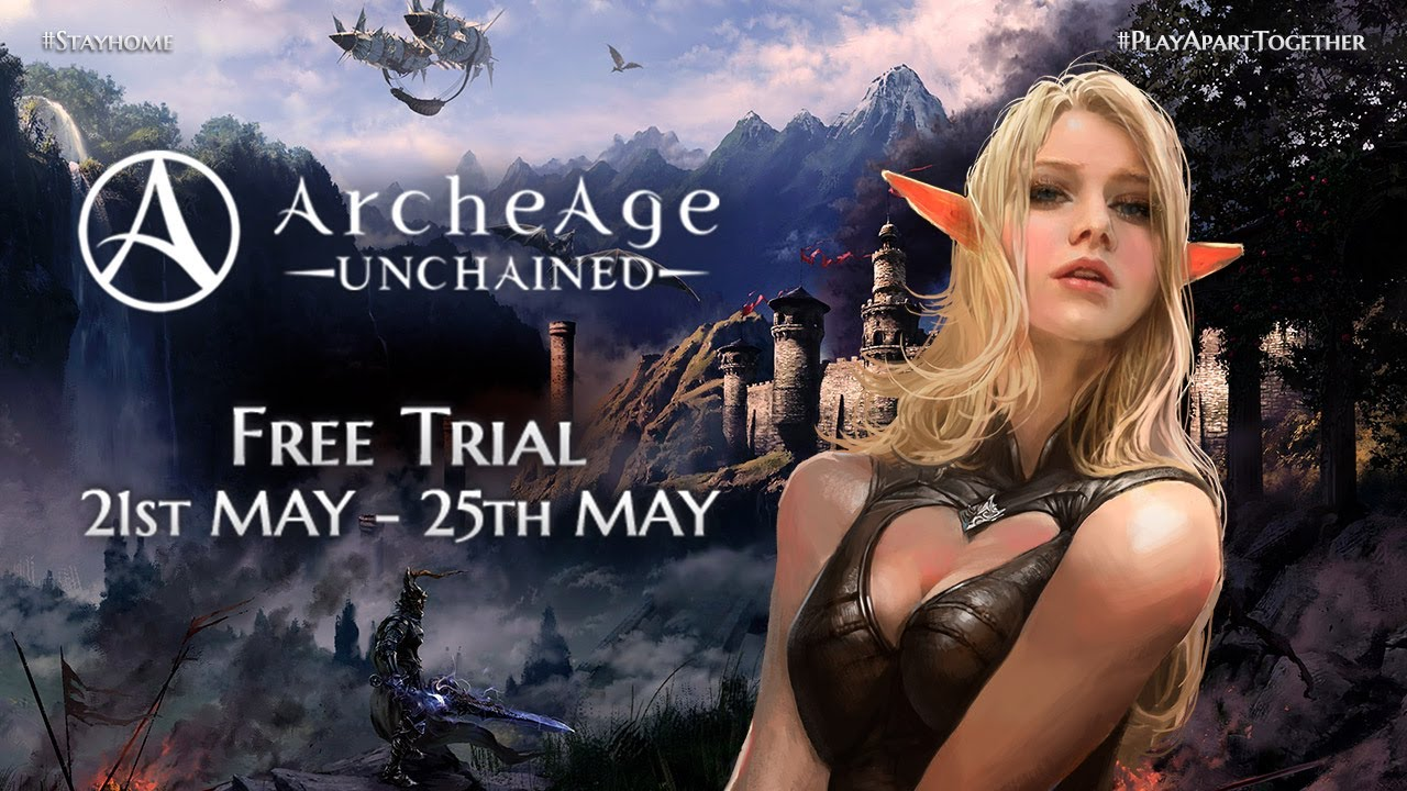 ArcheAge Unchained Free Trial May 2020