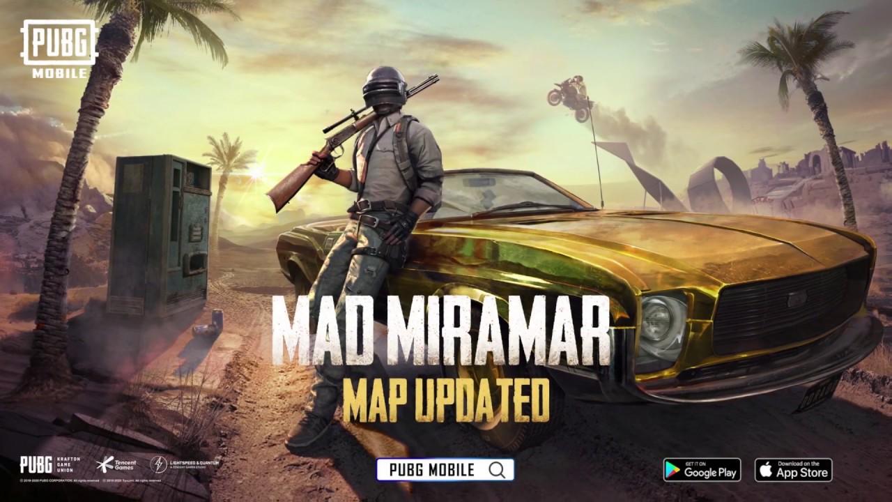 PUBG Mobile Mad MIrimar