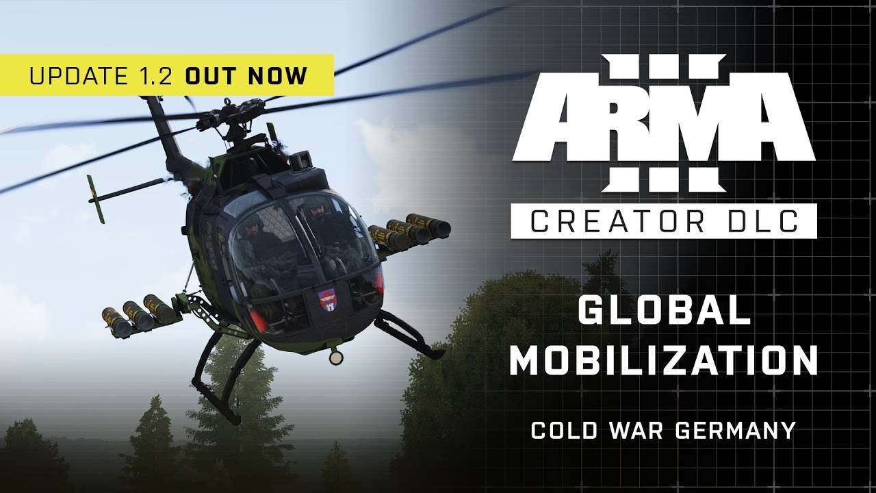 Arma 3 Creator DLC Global Mobilization Cold War Germany 1.2