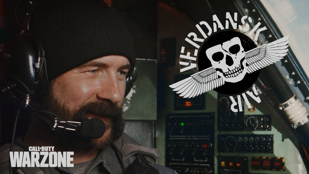 CoD Warzone Air Verdansk Trailer