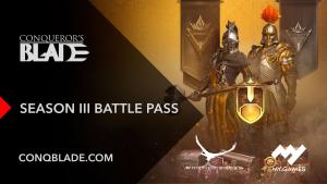 Conquerors Blade Season 3 Battle Pass