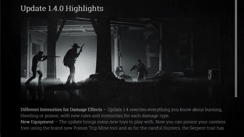 Hunt Showdown 1.4 Update
