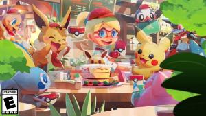 Pokemon Cafe Reveal Trailer