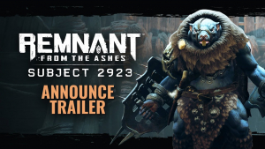 Remnant From The Ashes Subject 2923 Trailer