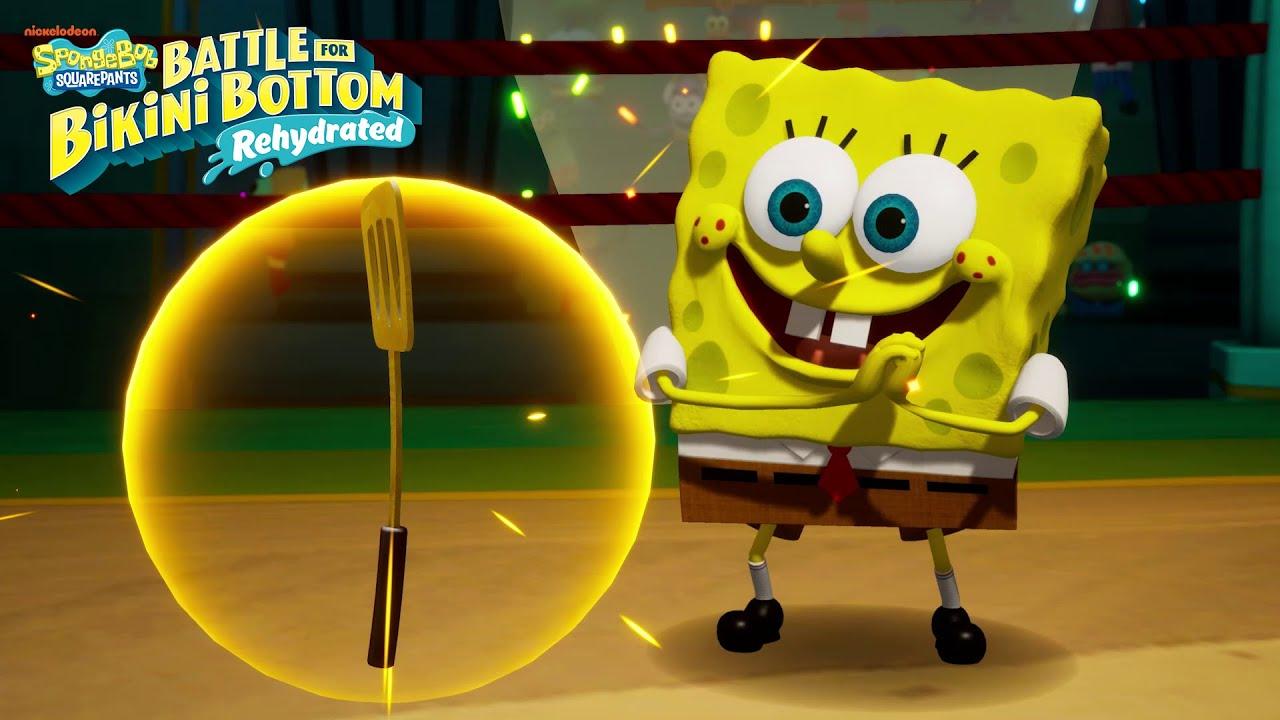 Spongebob Squarepants Battle Bikini Bottom Rehydrated Launch