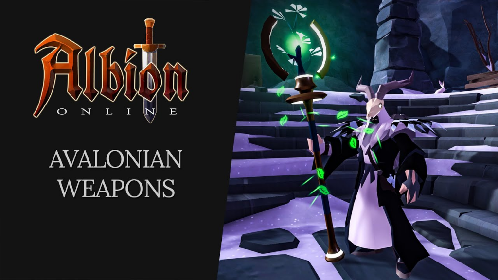 Albion Online Avalonian Weapons