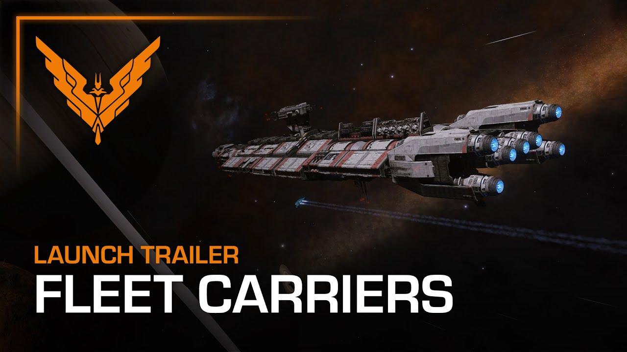 Elite Dangerous Fleet Carriers Release Trailer