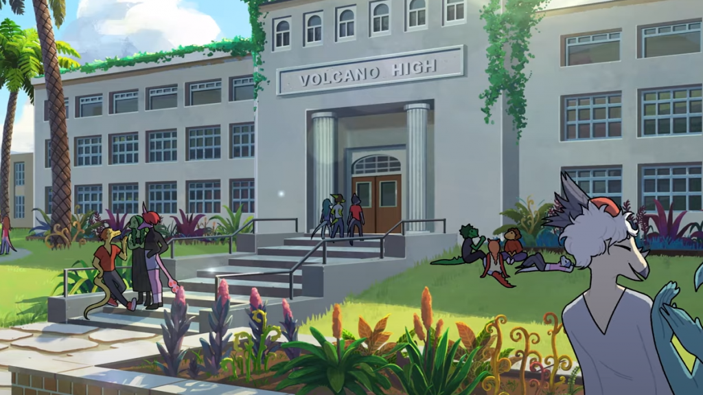 Goodbye Volcano High Announcement