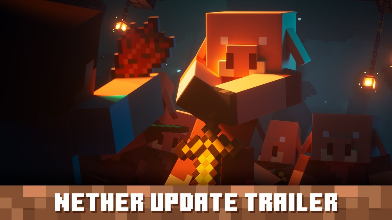 Minecraft Nether Update Trailer